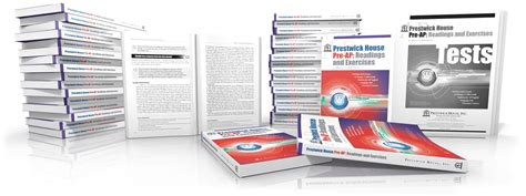 prestwick house pre ap readings and exercises prestwick house