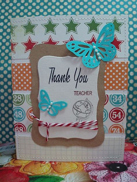 Handmade Card Ideas For Teachers Day - best 25 handmade teachers day cards ideas on