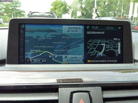 Bmw 1er F20 Navi Business by Bilder Video Bmw Idrive 2012 Mit 3d Navigationssystem