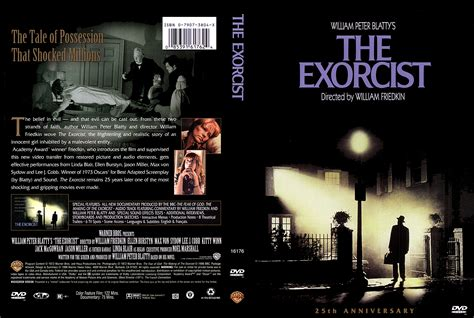 the exorcist 1973 r1 custom dvd cover