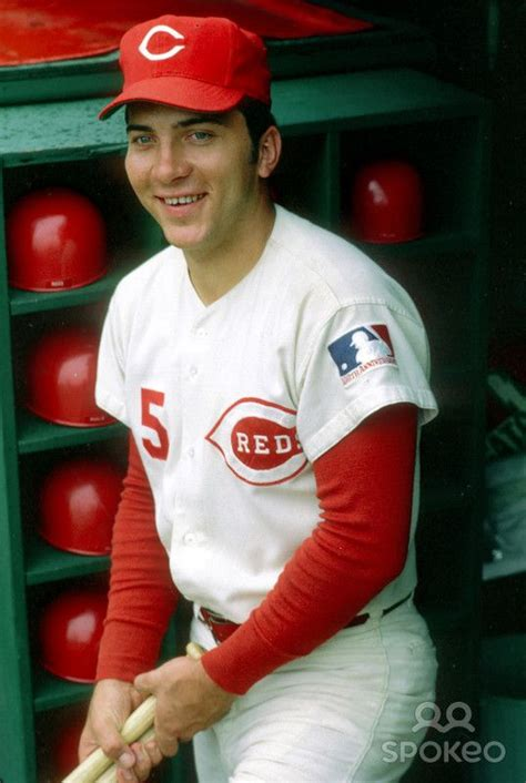 cincinnati reds johnny bench pin by roger byrd on cincinnati reds bengals sports pinterest
