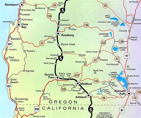 gold hill oregon map map of southern oregon maps map usa images free