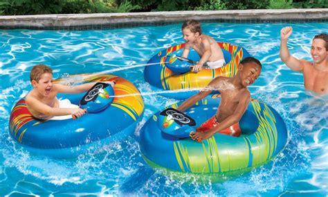 banzai motorized bumper boat instructions banzai inflatable motorized bumper boat groupon