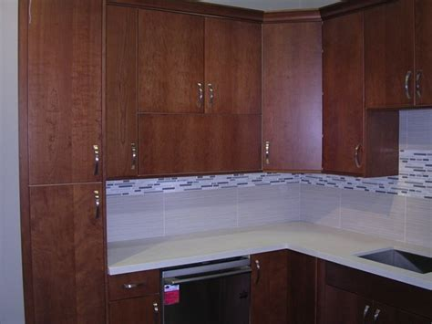 Flat Panel Kitchen Cabinets | 4f natural cherry flat panel kitchen cabinets photo album