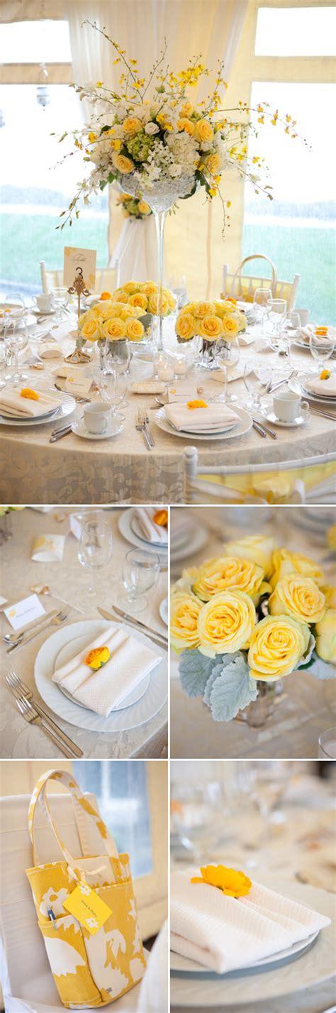 yellow  white spring tabletop designs  woodmark