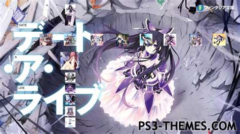 theme psp date a live ps3 themes 187 date a live 2