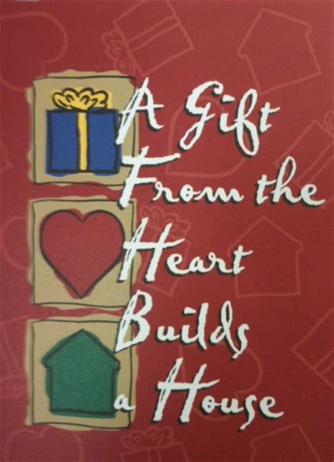 Habitat For Humanity Gift Cards - habitat for humanity of martin county gifts in memory of or in honor of