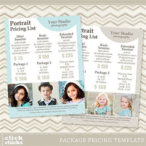 photography list template the 25 best ideas about photography price list on photography and videography