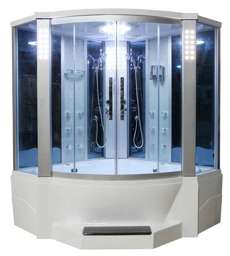 bathtub steam shower combo 66 quot eagle bath ws 701 steam shower sauna encloures w whirlpool bathtub combo unit