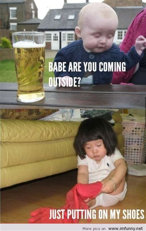 Kid Drinking Beer Meme - 25 best ideas about drunk baby memes on pinterest funny