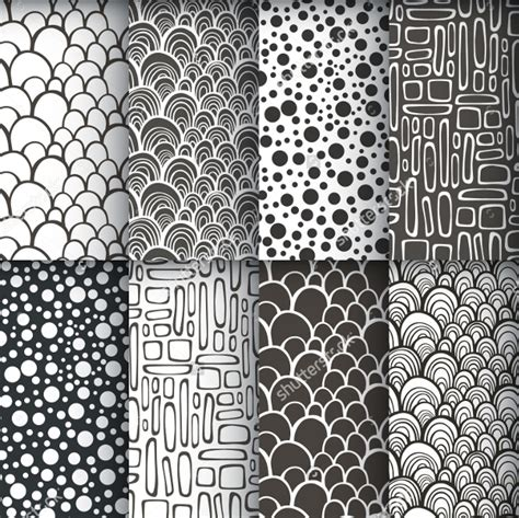 monochrome patterns psd png vector eps format