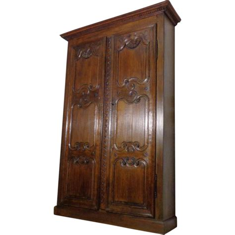 Antique Oak Armoire by Antique Renaissance Style Oak Armoire From