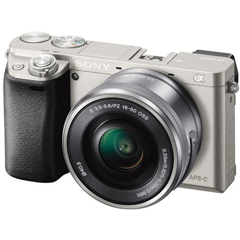 Sony Mirrorless A6000 Kit 16 50mm sony alpha a6000 mirrorless digital with 16 50mm lens b h