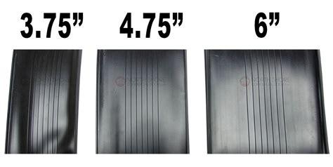 5 foot garage door t style garage door vinyl weather seal by the foot 3 3 4