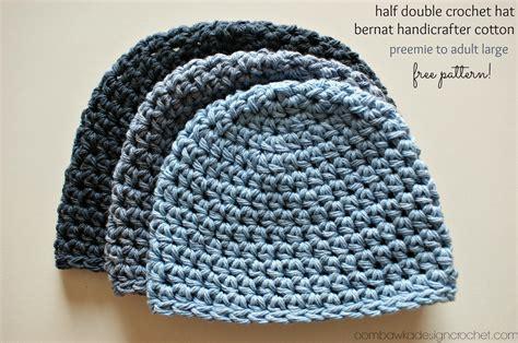 pattern hat crochet half double crochet hat pattern 2 free pattern oombawka