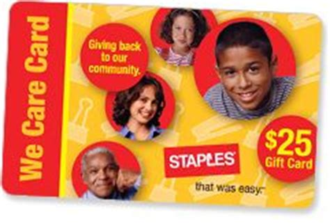 Companies That Donate Gift Cards To Nonprofits - staples donation request donates gift cards to nonprofit groups for fundraising