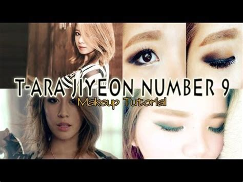 tutorial eyeliner jiyeon t ara jiyeon number 9 inspired makeup tutorial youtube