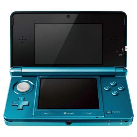 Nintendo 3ds Aqua Blue Small buy nintendo 3ds aqua blue from our nintendo 3ds 2ds dsi consoles range tesco