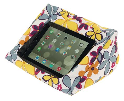 ipad pillow for bed padded tablet ipad cushion zipped pocket floor bed knee