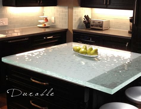 recycled kitchen countertops classy glass countertops design connection inc loves
