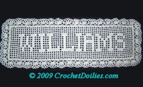 name doily pattern 202 best images about filet crochet on pinterest mesas