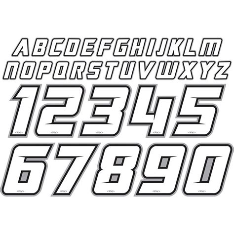motocross racing numbers factory effex mx jersey iron on name number id
