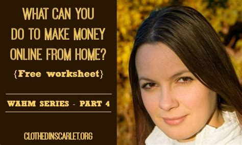 How Can You Make Money Online For Free - what can you do to make money online from home free worksheet