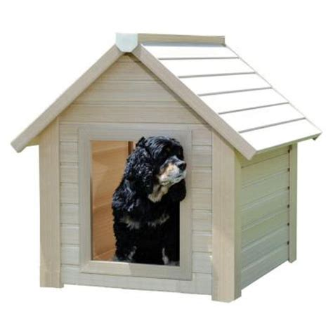 home depot dog houses new age pet eco concepts bunkhouse dog house large discontinued ecoh101l the home depot