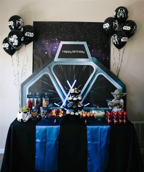 Wars Table Decorations by Wars Birthday Boy Birthday Ideas