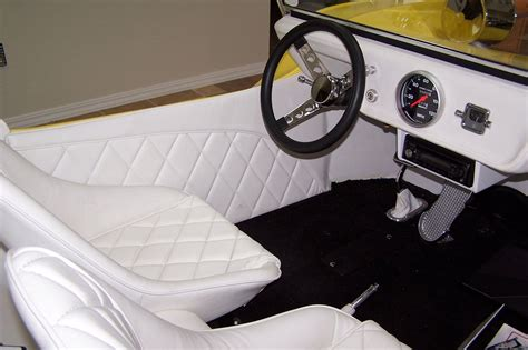 Buggy Interior by Barris T Buggy With Corvair Power