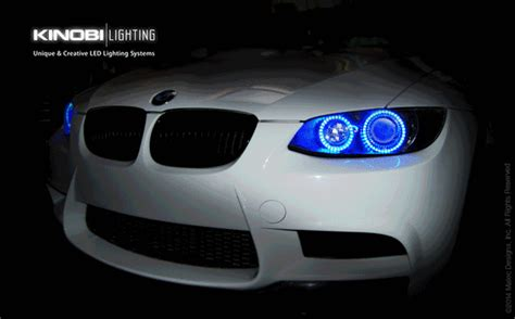 BMW E92 3 Series Changeable Multi Colors LED Halo Angel