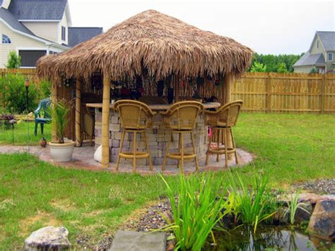 tiki bar backyard 8 outdoor tiki bars that make us want to hula dance