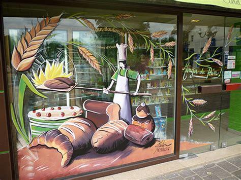 Decoration Vitrine Boulangerie by Deco Vitrine Noel Boulangerie