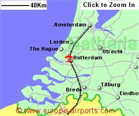netherlands map airports netherlands map with airports