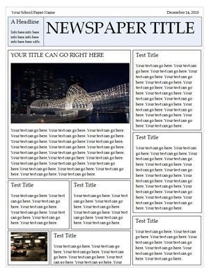 Newspaper Book Report Template School Pinterest Newspaper Templates And Book Report Templates Family Newspaper Template
