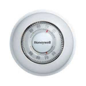 honeywell round mechanical thermostat heat only ct87k