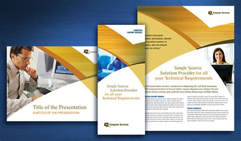 ideas consultancy services computer services consulting brochure datasheet flyer
