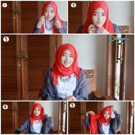 tutorial hijab pashmina ala zaskia mecca tutorial hijab cara memakai jilbab pashmina wajah bulat