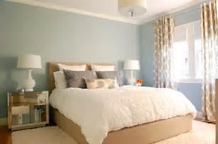 West Elm Linen Duvet Blue Walls Contemporary Bedroom Benjamin Moore Beach