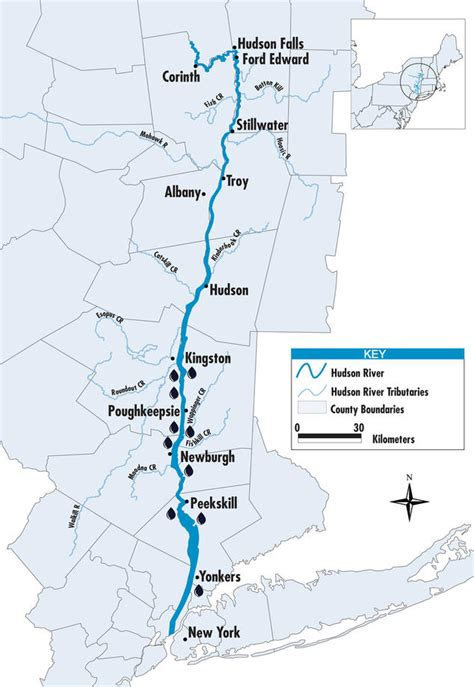 hudson river map small towns fight big on the hudson nrdc