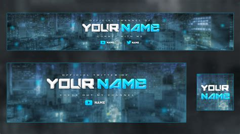 Youtube Banner Template Psd Cyberuse Banner Template Psd