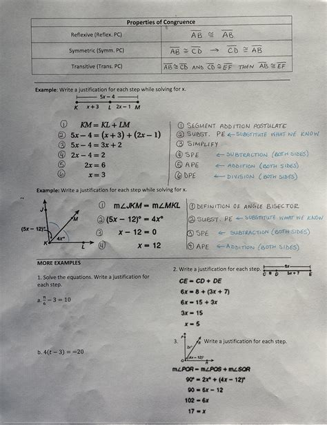 algebraic proofs worksheet with answers geometry angle proofs worksheets with answers free geometry proofs worksheets
