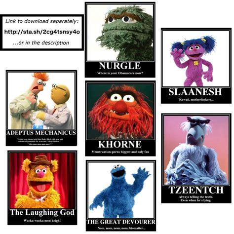 Funny Muppet Memes - 40k muppet memes by empyronaut on deviantart