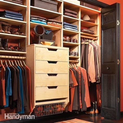 How To Make Closet Organizer by Wardrobe Closet Build Your Own Wardrobe Closet