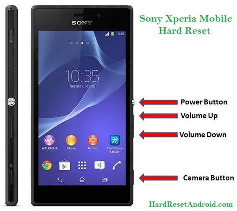 reset password xperia z2 sony xperia mobile hard reset list