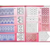 Puntillas De Crochet Con Esquema  Imagui