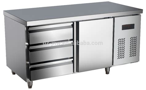 under bench fridge drawers stainless steel under counter refrigerator with drawer