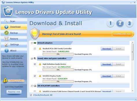Lenovo Update Lenovo Drivers Update Utility 8 1 5990 53052