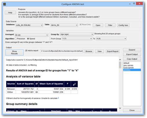 sofa statistics review sofa statistics download