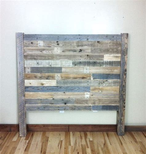 Reclaimed Wood Headboard King Headboard Pallet Furniture Reclaimed Barn Wood Boards King Board Rustic
